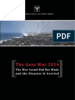 The Gaza War 2014