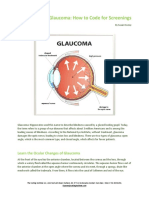 Focus on Glaucoma- How to Code for Screenings