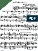 Brahms intermezzi op. 117