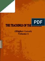 252. The Teaching of the Buddha (Higher Level Vol.I)