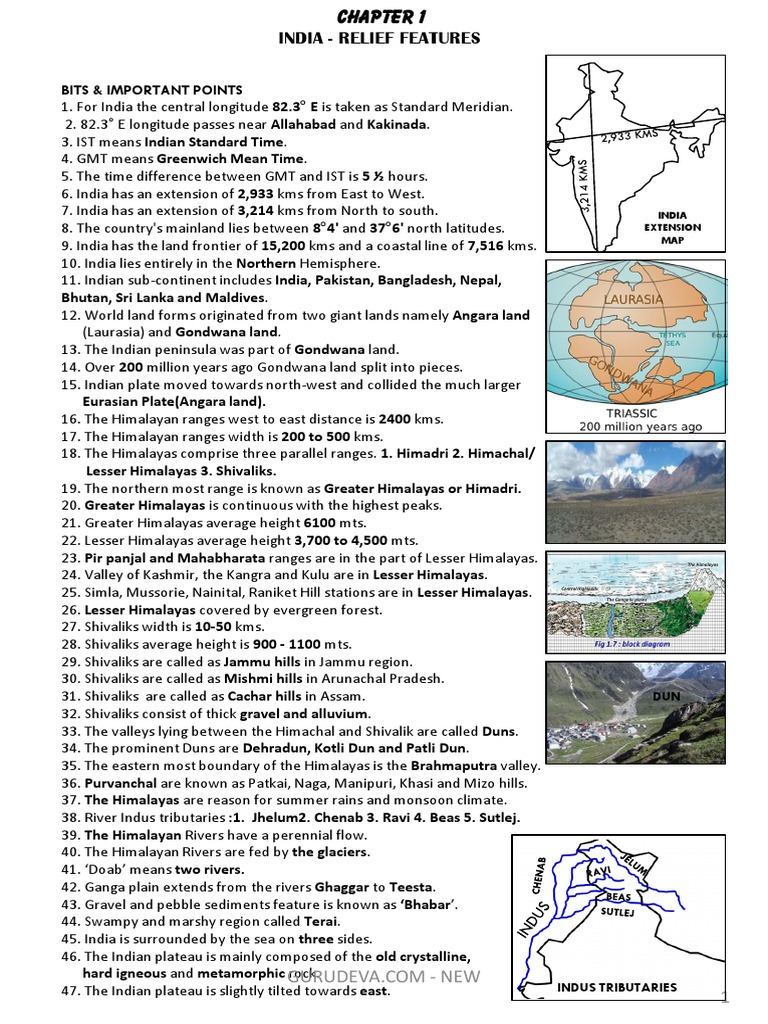 10 1_guide pdf | Himalayas | Indian Subcontinent