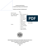Laporan Praktikum Mesin dan Peralatan Pertanian
