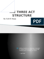 The Three Act Structure