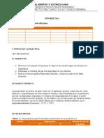 Informe 3 aboratorio quimica
