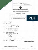 Maths 3U 2004 Paper