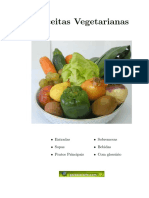 Culinária - Livro de Receitas Vegetarianas
