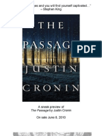 The Passage by Justin Cronin (Excerpt)