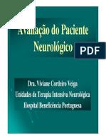 avaliação neurologica