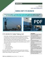 Brochure - Sprint Coiled Tubing Unit