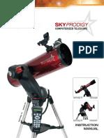 Telescopio Inglês Celestron SkyProdigy 130
