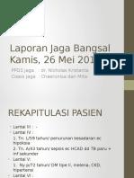 LapJag Bangsal 26-05-2016