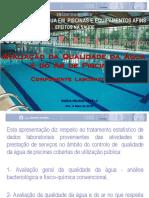 Avaliacao Da Qualidade Da Agua de Piscinas_INSA