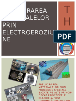 246001281 Prelucrarea Materialelor Prin Electroeroziune