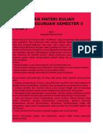 Rangkuman Materi Kuliah Profesi Keguruan Semester II