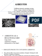 Asbestos and Clay Products