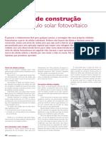 Processo de Construção Fotovoltaico