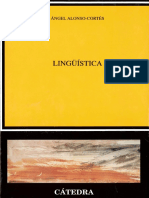Alonso Cortes - Lingüística Cap X