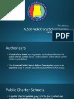 Alabama Public Charter School presentation