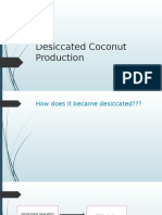 Report Desiccated Coconut Production (OJT)