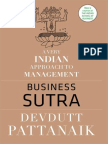 Business Sutra- A Very Indian Approach to Management by Devdutt Pattanaik