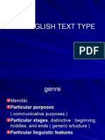 TEXT TYPES for Students