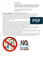 No Al Trabajo Infantil en Guatemala