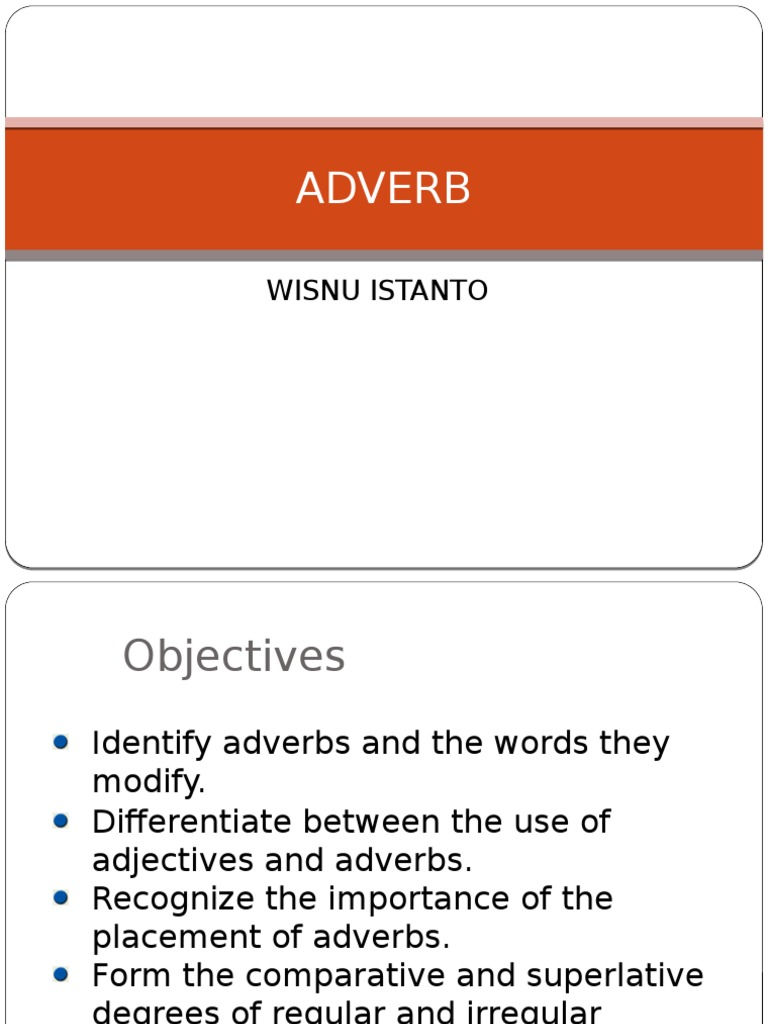 Sexually transmitted infections examples of adverbs