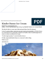 Kinder Bueno Ice Cream - The Londoner