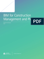 BIM For Construction Management & Planning