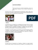 Idiomas Que Se Hablan en Guatemal1