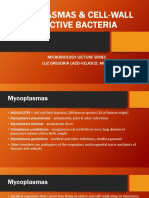23 Mycoplasmas & Cell-wall Defective Bacteria