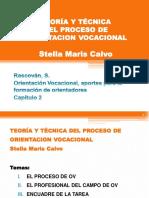 TEORÍA Y TÉCNICA DEL PROCESO DE ORIENTACION VOCACIONAL Stella Maris Calvo (by CA)