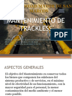 Gestion Mantenimiento de Trackless