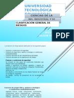 Clasificacion General de Riesgos