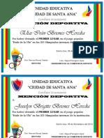 Diplomas Para Olimpiadas