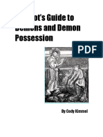 An Idiot¹s Guide to Demons and Demon Possession, Cody Kimmel, 10.pdf