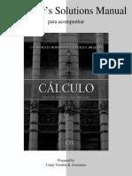 Resolução - Cálculo Um Curso Moderno e Suas Aplicações