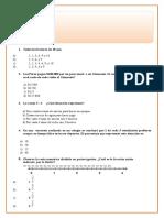 evaluacion diagnostica 6º Básico