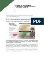 Notas de Prensa-Violencia Escolar-bolivia