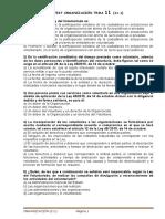 Tema 11 de Organización (11.1)