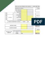 Cópia de Planilha de C+ílculo MARK-UP - Forma+º+úo do Preco de Venda no Com+®rcio