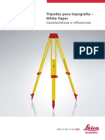 Especificaciones Tecnicas del tripode Instrumento topografico