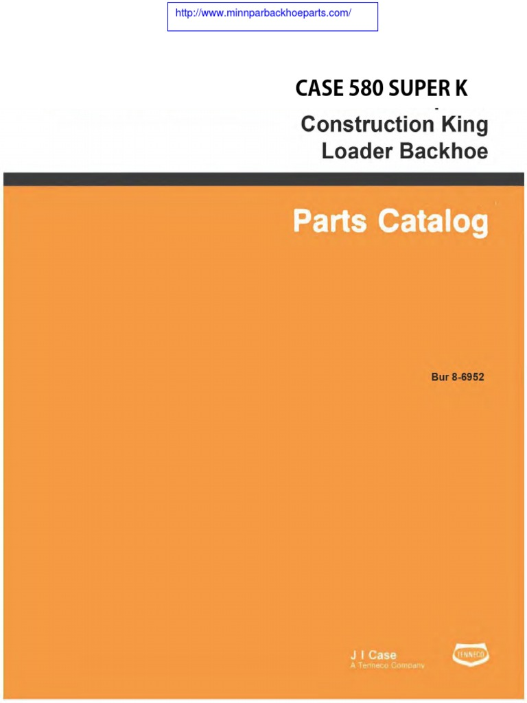 case 580 super k part manual compressed pdf loader equipment rh scribd com Case 580K Specs 580 Case Backhoe Parts