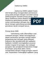 Short Wave Diathermy.docx