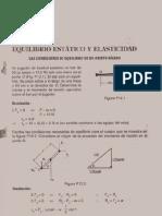 Fisica Ejercicios Resueltos Soluciones Equilibrio y Elasticidad