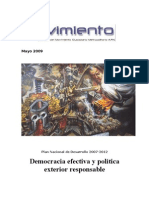Democracia efectiva y política exterior responsable