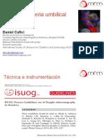 Doppler de Arteria Umbilical Daniel Cafici