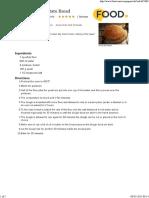 Transylvanian Potato Bread Recipe