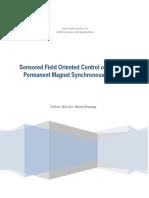 Sensored FOC of PMSM_servo
