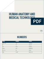 Medical Terminology and Anatomy